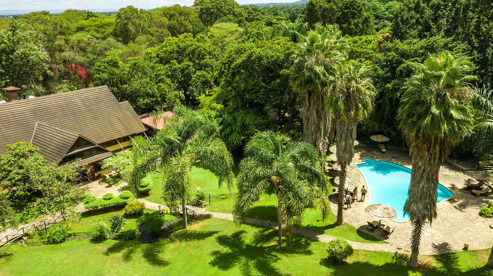 Arumeru Lodge - Green oasis near Arusha